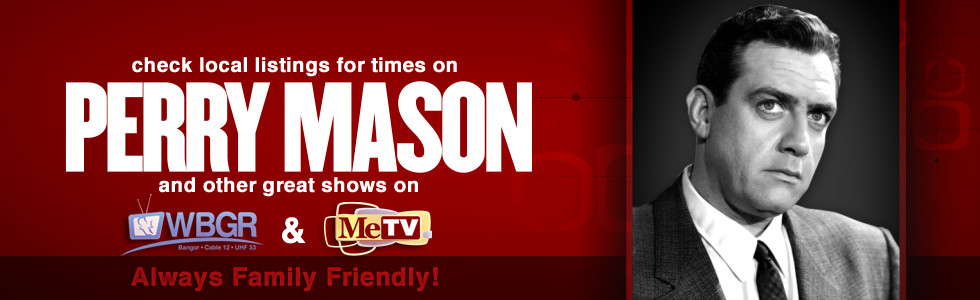 Perry Mason tv programming