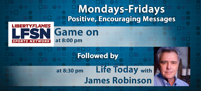Game on at 8pm followed by Life Today with James Ronsinson