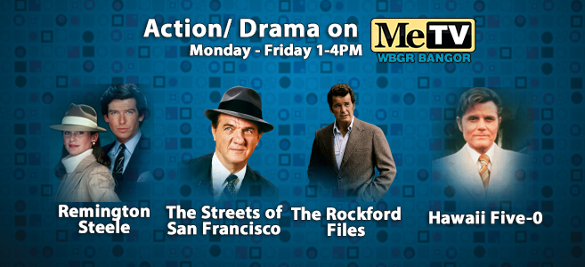 Heroes of Me Monday - Friday from 1-4 PM on MeTv