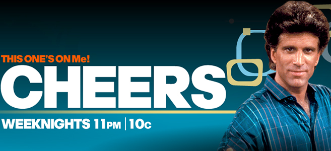 Watch Cheers on MeTV weeknights at 11PM