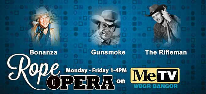 Rope Opera on MeTV Monday - Friday 1- 4PM